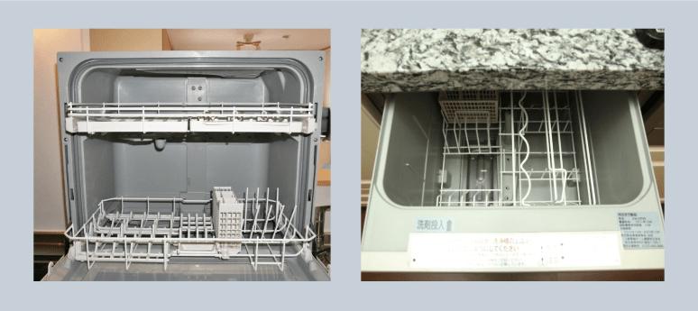 食器洗い機の種類