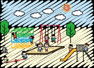 横堤駅エリアは子どもを遊ばせる場所がたくさん