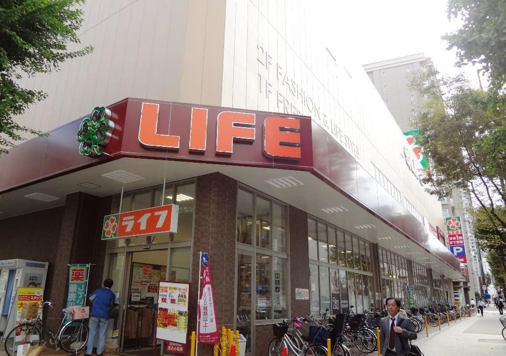 ライフ中崎町駅前店